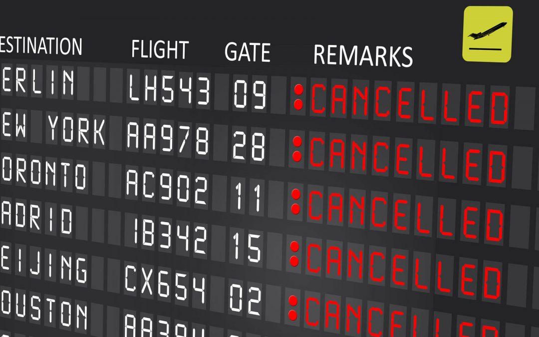 Mi vuelo se ha cancelado. ¿Y ahora qué?